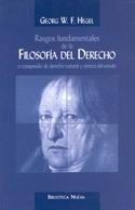 RASGOS FUNDAMENTALES DE LA FILOSOFÍA DEL DERECHO: portada