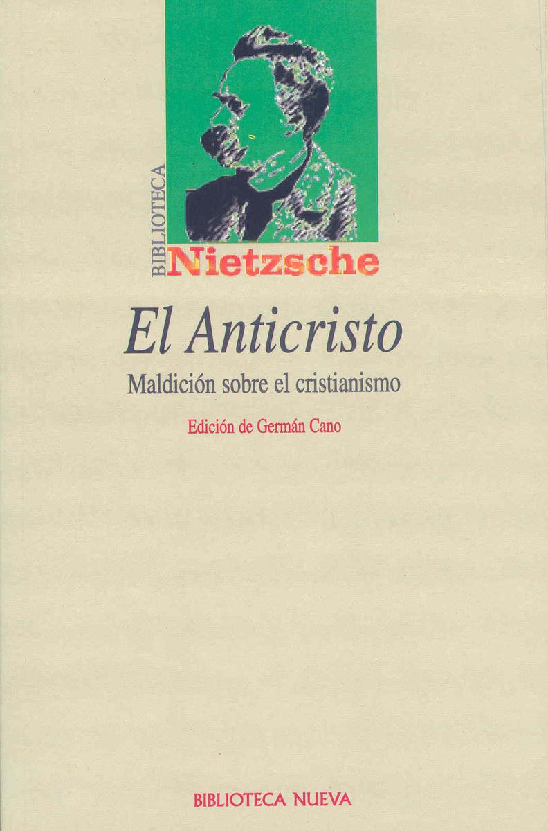 ANTICRISTO, EL: portada