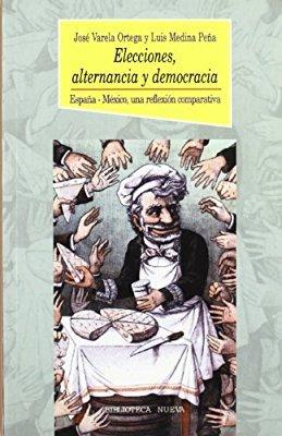 ELECCIONES, ALTERNANCIA Y DEMOCRACIA: portada