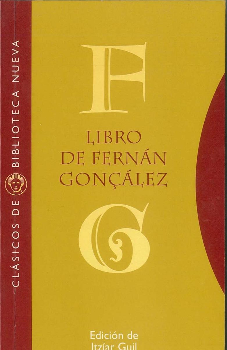 LIBRO DE FERNÁN GONÇÁLEZ: portada