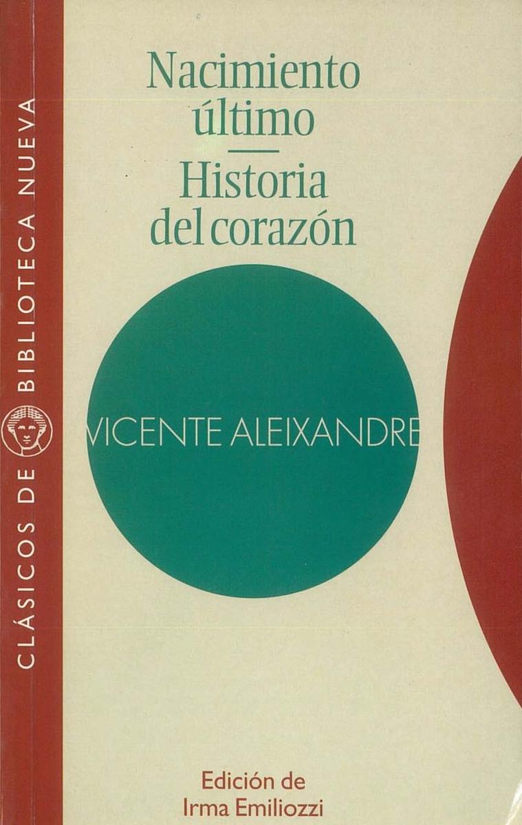 NACIMIENTO �LTIMO. HISTORIA DEL CORAZ�N: portada