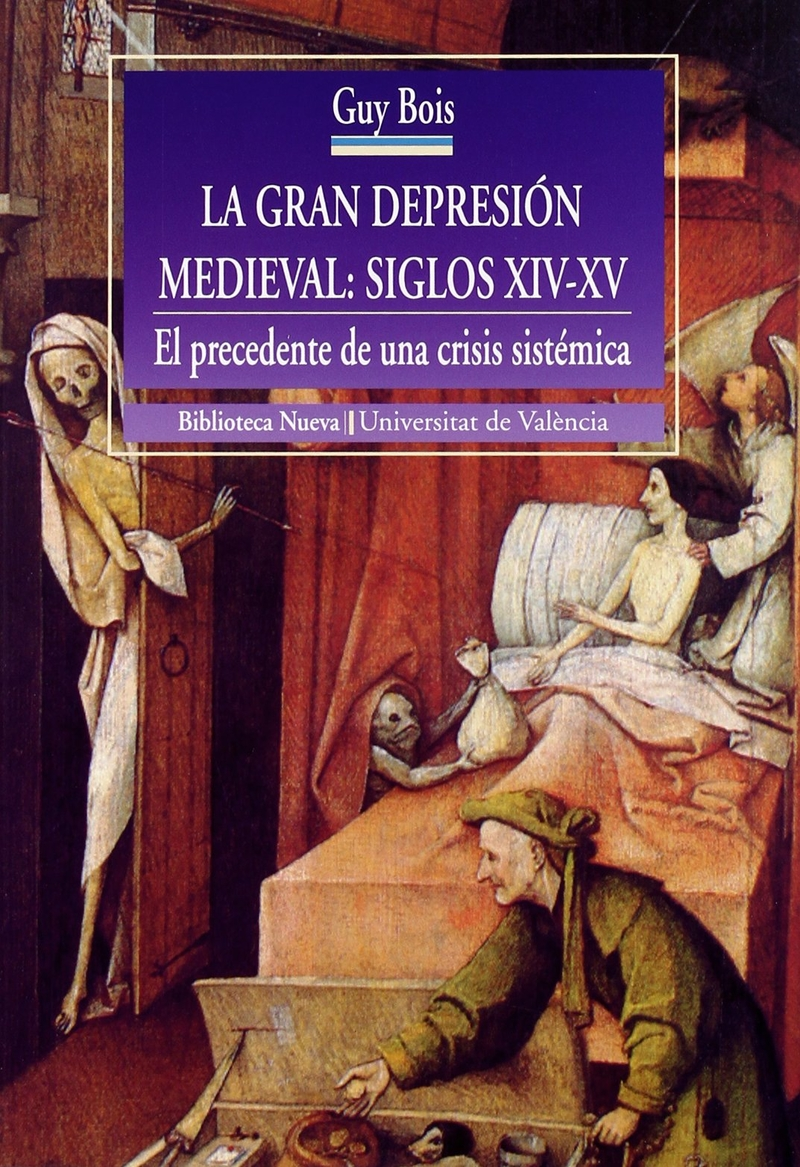 LA GRAN DEPRESIÓN MEDIEVAL - SIGLOS XIV-XV: portada