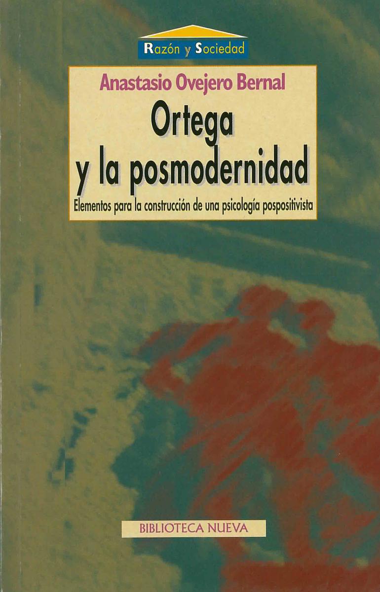 ORTEGA Y LA POSMODERNIDAD: portada