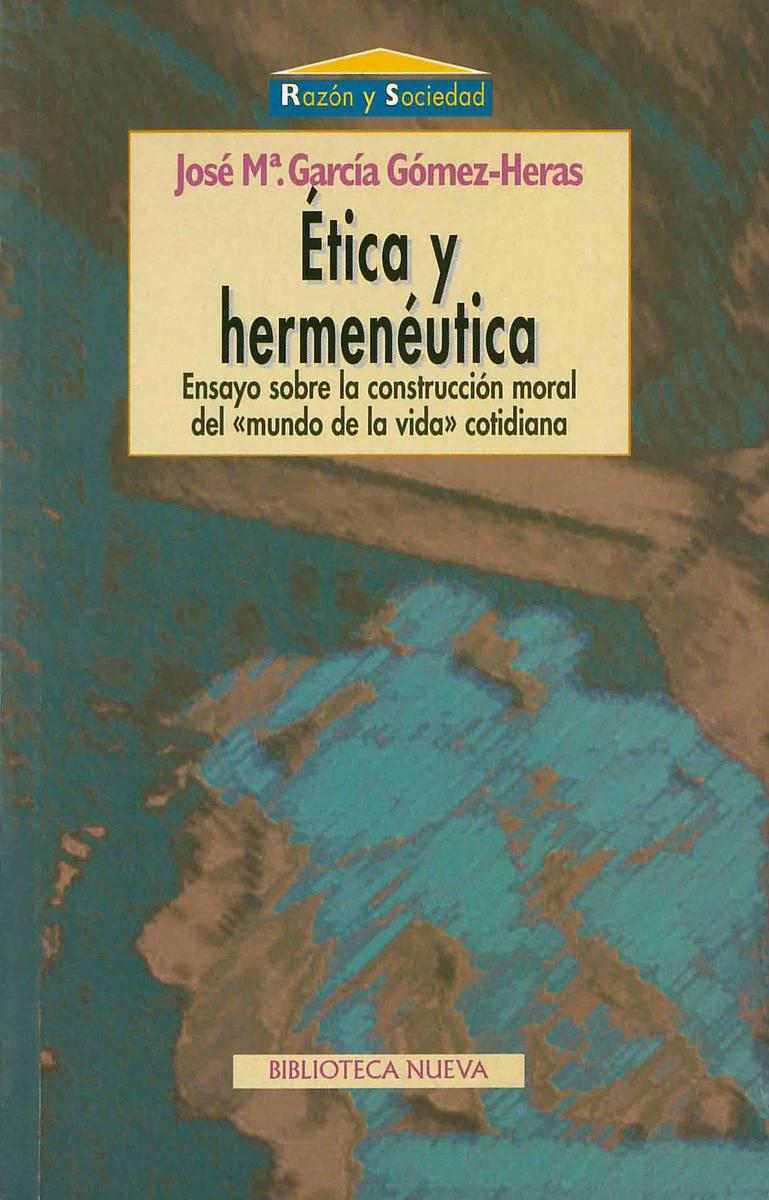 �TICA Y HERMEN�UTICA: portada