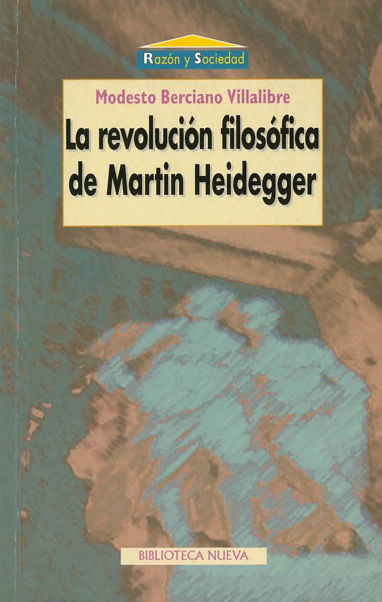 REVOLUCIÓN FILOSÓFICA DE MARTIN HEIDEGGER, LA: portada
