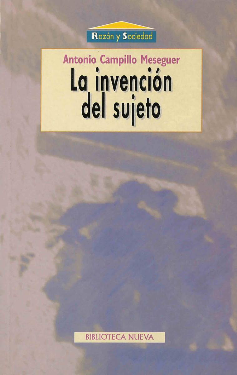 INVENCIÓN DEL SUJETO, LA: portada
