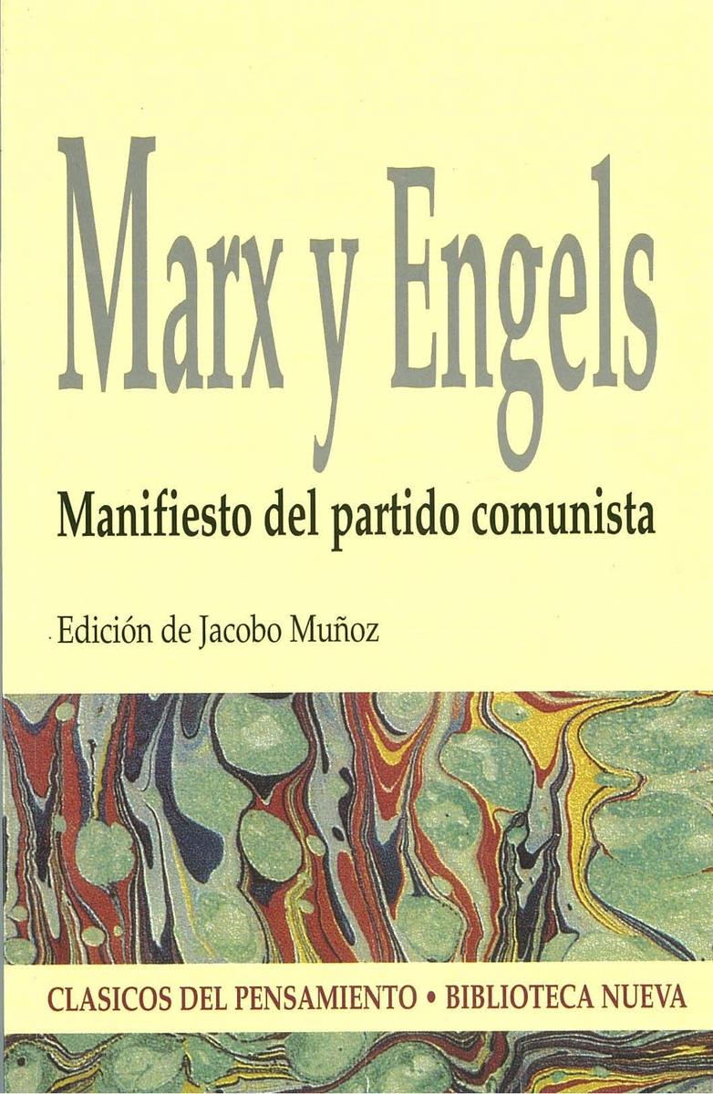 MANIFIESTO DEL PARTIDO COMUNISTA: portada