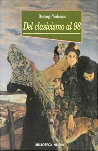 DEL CLASICISMO AL 98: portada