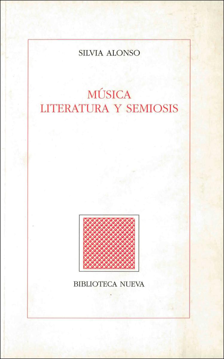 MÚSICA, LITERATURA Y SEMIOSIS: portada