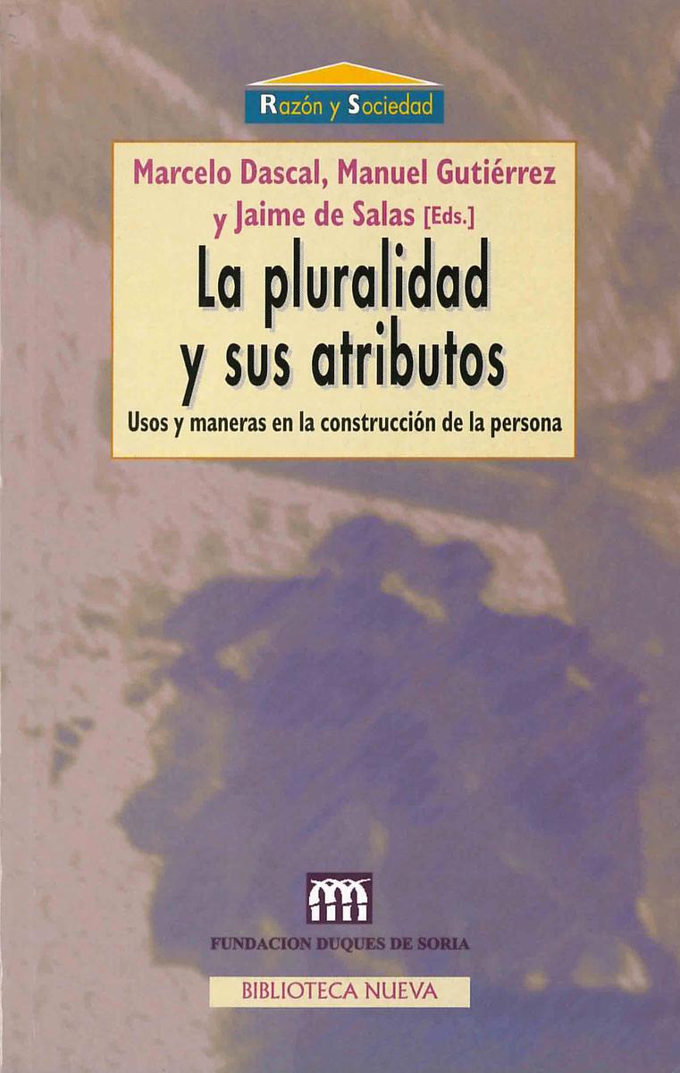 PLURALIDAD Y SUS ATRIBUTOS, LA: portada