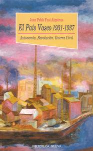 EL PAíS VASCO 1931-1937: portada