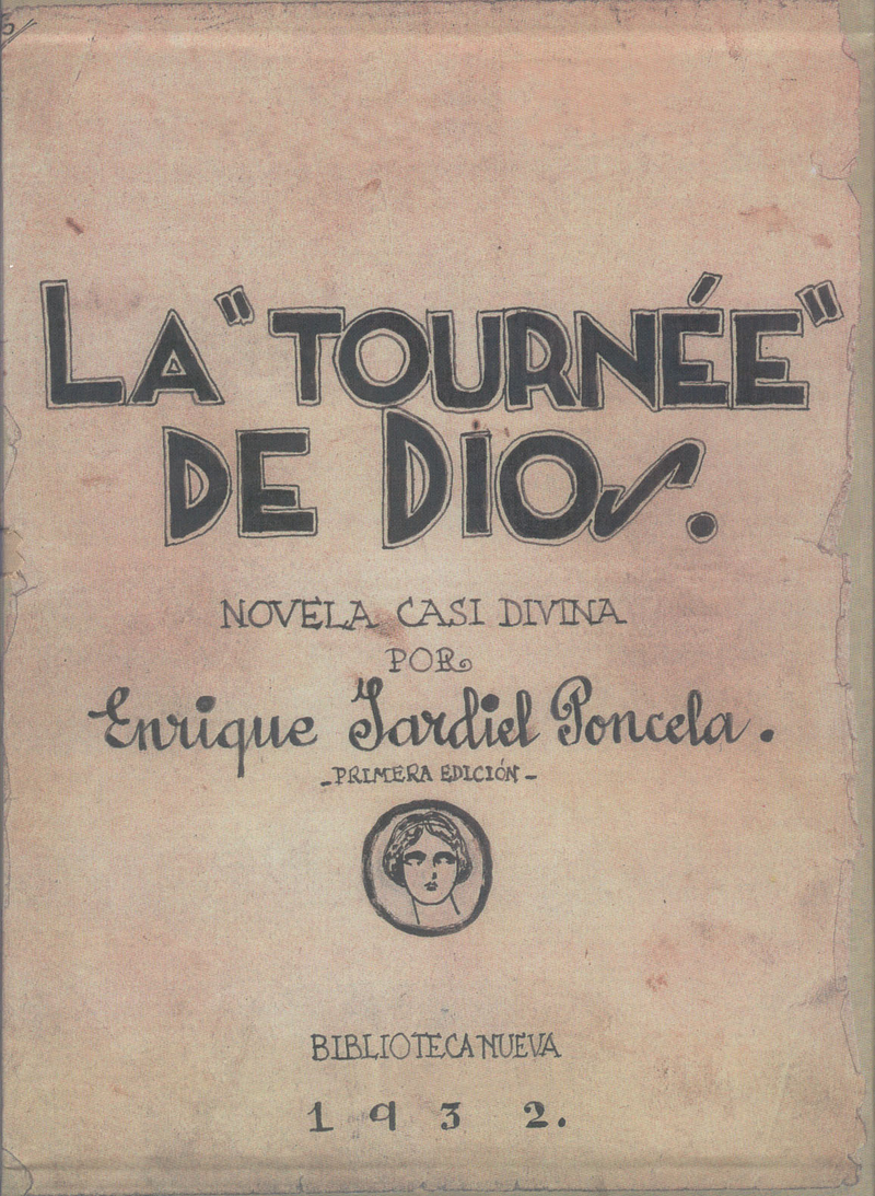 LA TOURNÉE DE DIOS (EDICIÓN FACSÍMIL DEL MANUSCRITO): portada