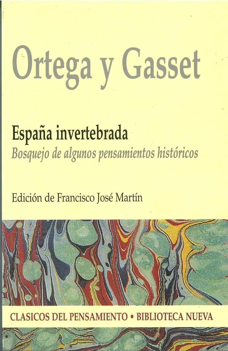 ESPAÑA INVERTEBRADA: portada