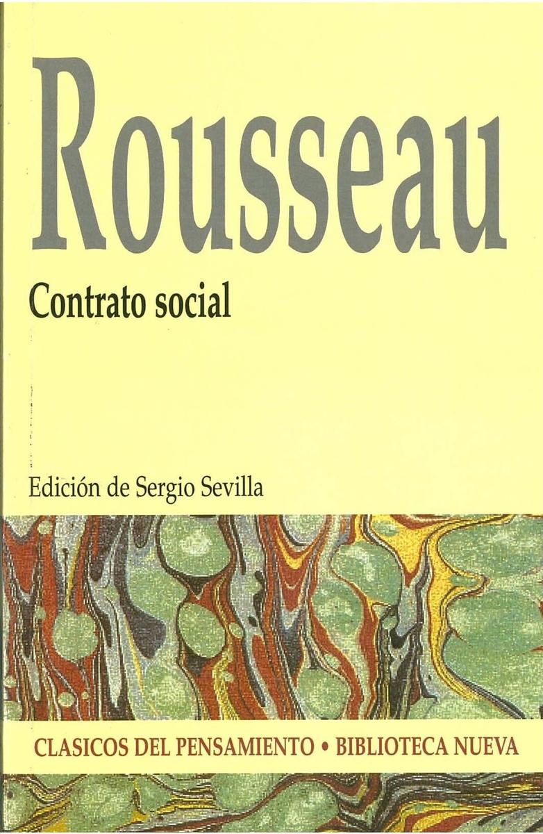 CONTRATO SOCIAL: portada