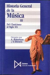HA.GENERAL DE LA MUSICA III: portada