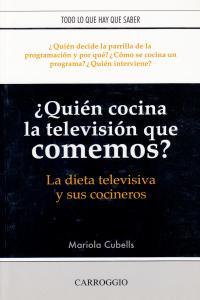 QUIEN COCINA LA TV QUE COMEMOS HOY: portada