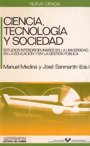 CIENCIA TECNOLOGIA Y SOCIEDAD: portada