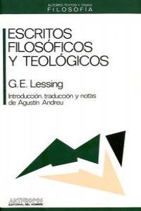 ESCRITOS FILOSOFICOS Y TEOLOGICOS: portada