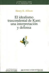 IDEALISMO TRASCENDENTAL DE KANT: portada
