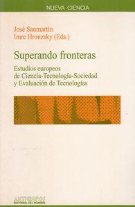 SUPERANDO FRONTERAS: portada