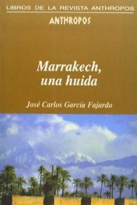 MARRAKECH UNA HUIDA: portada
