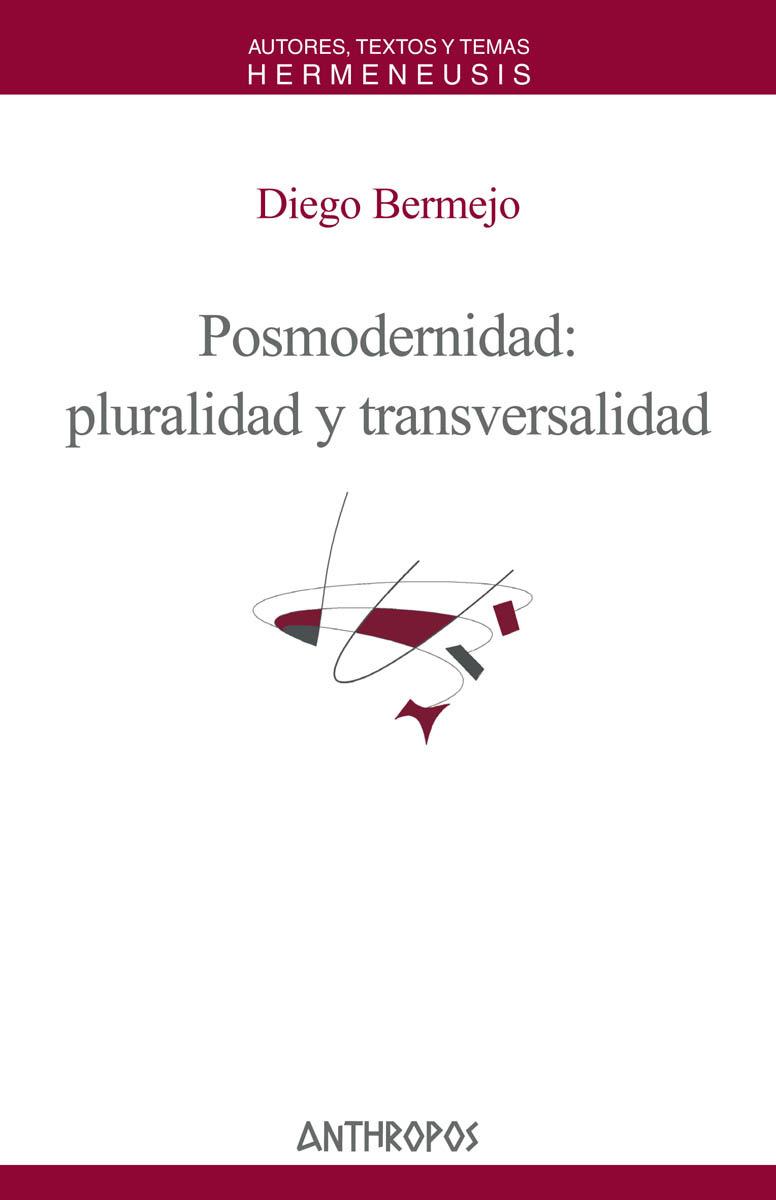 POSMODERNIDAD PLURALIDAD Y TRANSVERSALIDAD: portada