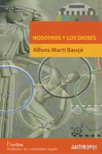 NOSOTROS Y LOS DIOSES: portada
