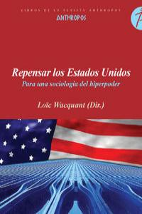 REPENSAR LOS ESTADOS UNIDOS: portada