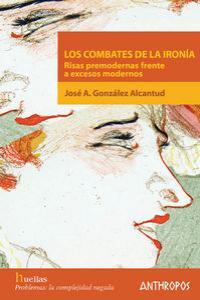 COMBATES DE LA IRONIA,LOS: portada