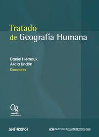 TRATADO DE GEOGRAFIA HUMANA: portada