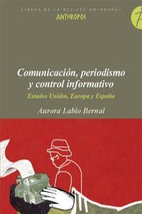 COMUNICACION PERIODISMO Y CONTROL INFORMATIVO: portada