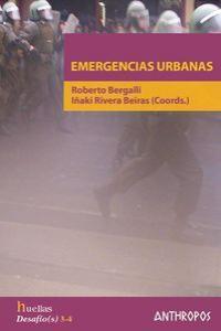 EMERGENCIAS URBANAS: portada
