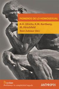 PIONEROS DE LO HOMOSEXUAL: portada