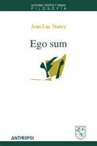 EGO SUM: portada