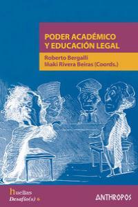 PODER ACADEMICO Y EDUCACION LEGAL: portada