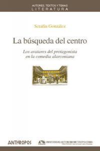 BUSQUEDA DEL CENTRO,LA: portada