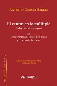 CENTRO EN LO MULTIPLE,EL III: portada