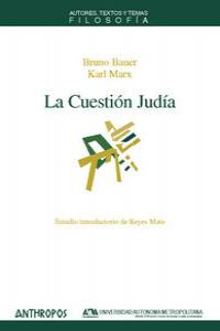 CUESTION JUDIA,LA: portada