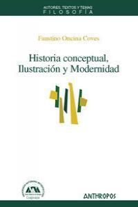 HISTORIA CONCEPTUAL ILUSTRACION Y MODERNIDAD: portada