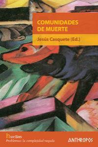 COMUNIDADES DE MUERTE: portada