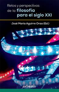 RETOS Y PERSPECTIVAS DE LA FILOSOFÍA PARA EL SIGLO XXI: portada