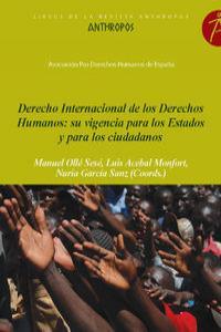 DERECHO INTERNACIONAL DE LOS DERECHOS HUMANOS: portada
