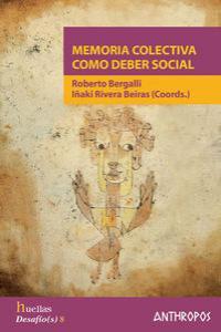 MEMORIA COLECTIVA COMO DEBER SOCIAL: portada