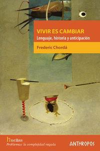 VIVIR ES CAMBIAR: portada