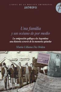 UNA FAMILIA Y UN OCEANO DE POR MEDIO: portada