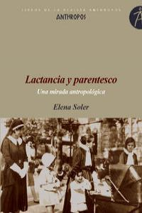 LACTANCIA Y PARENTESCO: portada