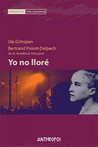 YO NO LLORE: portada