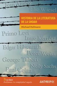 HISTORIA DE LA LITERATURA DE LA SHOAH: portada