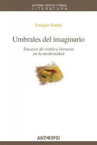 UMBRALES DEL IMAGINARIO: portada