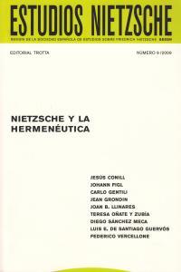 ESTUDIOS NIETZSCHE Nº 09: portada
